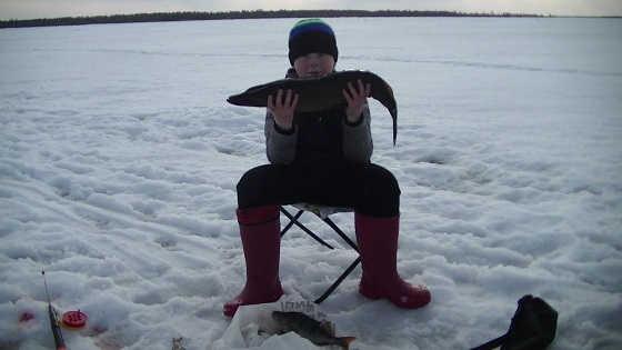 Рыбалка с сыном с ночёвкой
