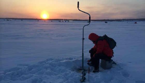 Рыбалка в Якутии с французами