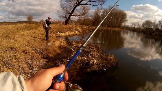 Рыбалка на спиннинг в марте