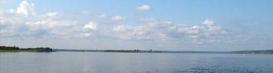 Ловля весной на реке Енисей