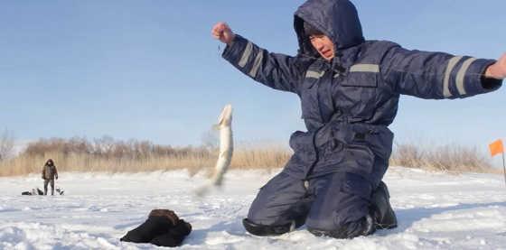 Рыбалка на Вячеславском водохранилище