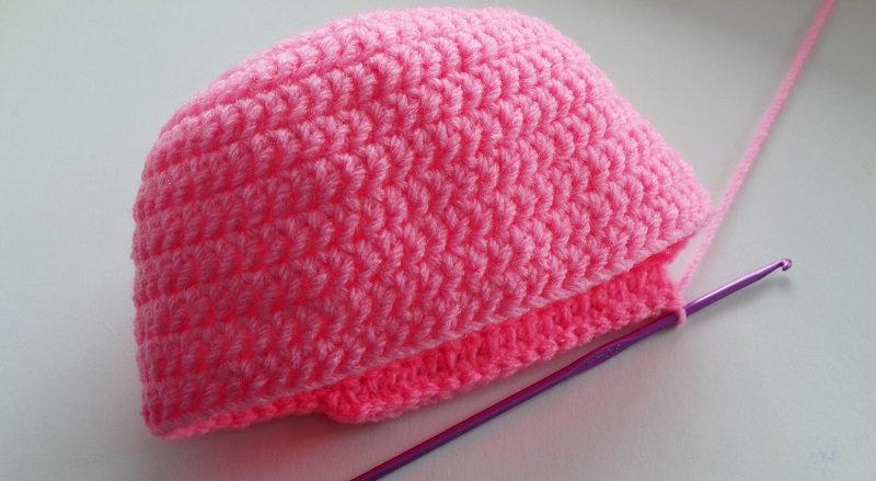 Вязание крючком шапочки для девочки