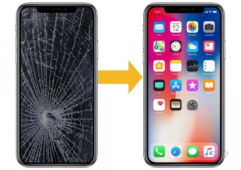 Замена дисплея на Iphone X