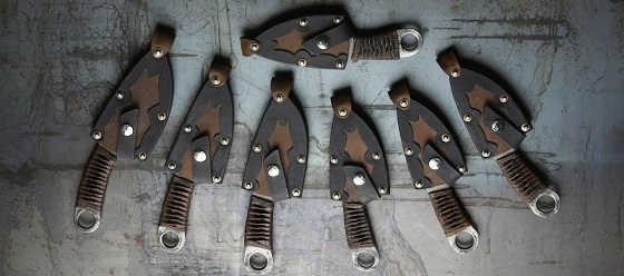 Шейный нож с характером