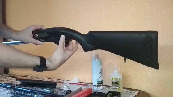 Как чистить гладкоствольное ружье