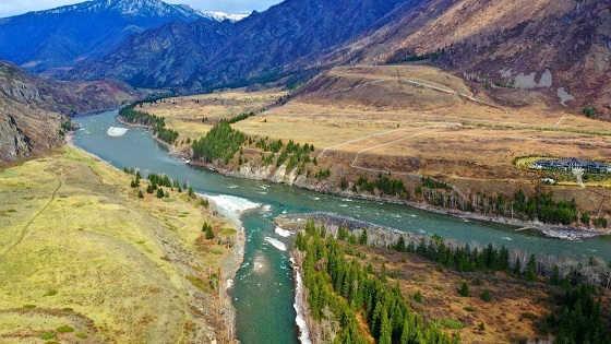 Ловля хариуса весной на реке Сумульта и Катунь