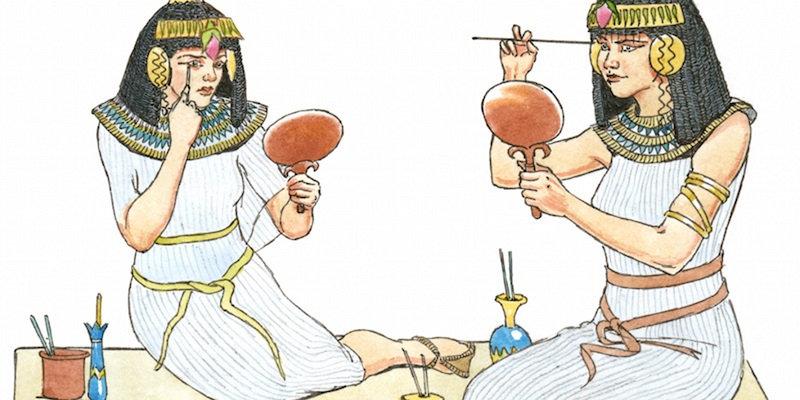 История создании косметики