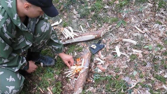Лесной аналог турбо печки