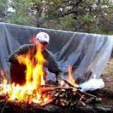 Укрытие без тента и палатки