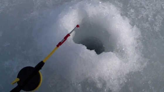 Весенняя рыбалка подледка