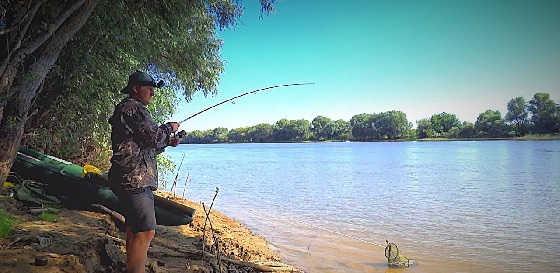 Рыбалка на закидушки: Крупный карась, сазан