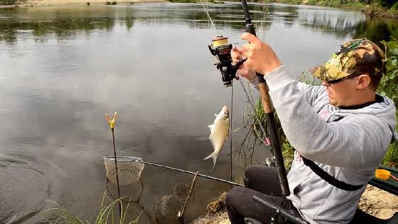 Рыбалка на Фидер в Июне