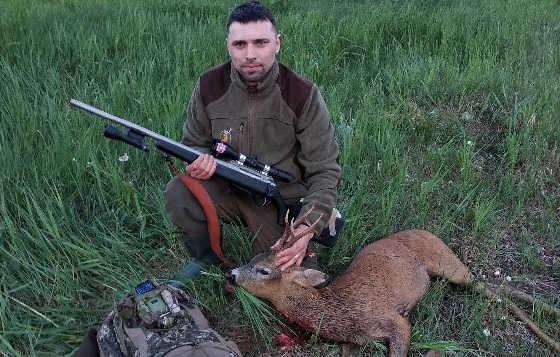 Охота на косулю с LA 102 308win
