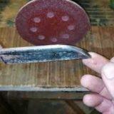 Нож из старой стамески