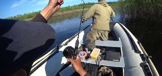 Рыбалка на новом моторе
