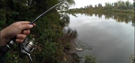 Рыбалка на спиннинг в пасмурную погоду