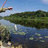 Рыбалка с подвесным Поплавком на Оке