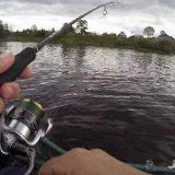 Рыбалка с лодки на джиг