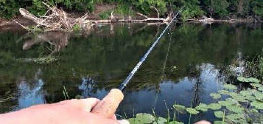 Рыбалка на Живописной Речке на Спиннинг