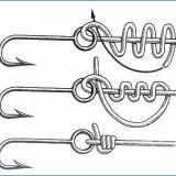 Пять рыболовных узлов для крючка