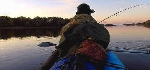 Рыбалка на спиннинг с каяка