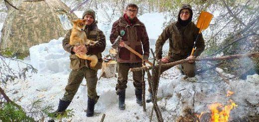 ЛАГЕРЬ В ТАЙГЕ - БУШКРАФТ