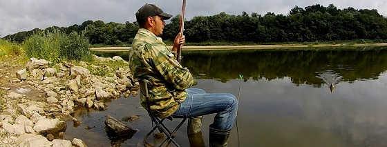 Рыбалка на Стук в конце Июля