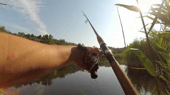 Рыбалка на воблеры в жару