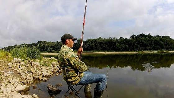 Рыбалка на Оке в конце Июля 2019