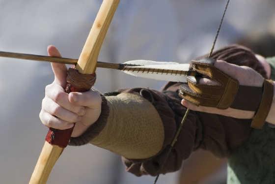 Стрельба из лука с кольцом