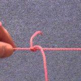Легкий способ сделать узел T на леске