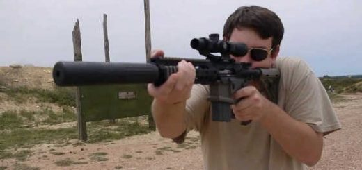 300 AAC Blackout Suppressed