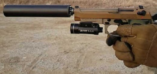 Beretta M9 A3 Suppressed