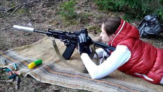 VEPR 12 AK Shotgun Suppressed