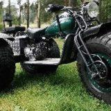 Полноприводный трицикл Амфибия Васюган