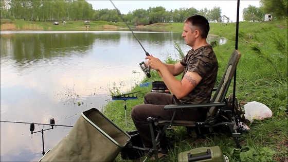 Рыбалка на ФЛЕТ ФИДЕР