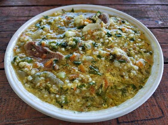 КУЛЕШ - походное блюдо