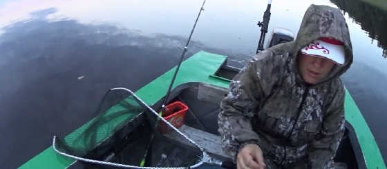 Ловля ЯЗЯ на реке Лена