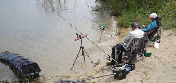 Рыбалка на необитаемом острове на фидер