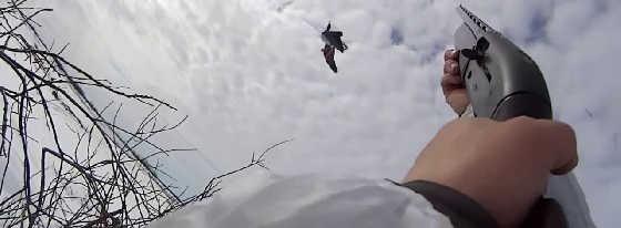 Охота на гуся на Крайнем Севере