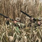 Колхозный отстрел патронов перед охотой