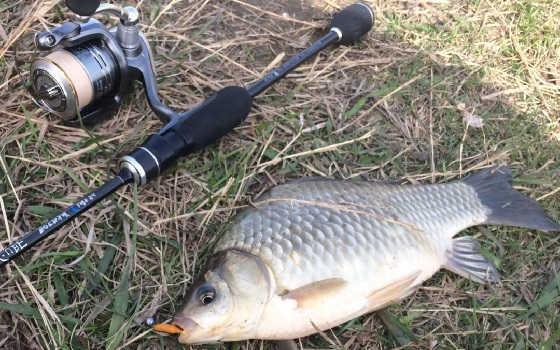 Простой способ поймать рыбу на спиннинг
