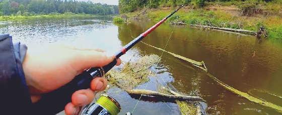 Рыбалка в ГЛУХОМ КОРЯЖНИКЕ