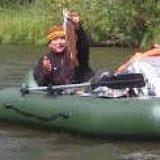 Рыбалка сплавом по таёжной реке