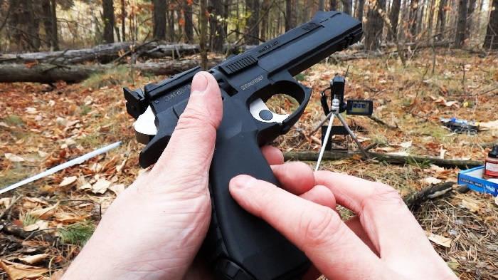 Использование пневматического оружия