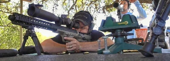 Стрельба на километр из винтовки