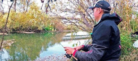 Рыбалка на спиннинг с Мормышкой по малоречью