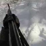 Охота на волка с Астраханским волчатником