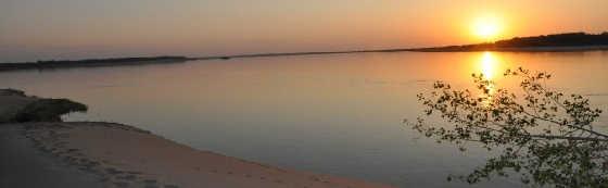 Отдых и рыбалка на Волжских островах