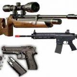Пневматическое оружие: история, разновидности